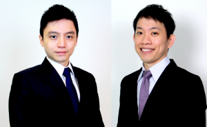 Profile photo of Tan Dehong and Peter Ng